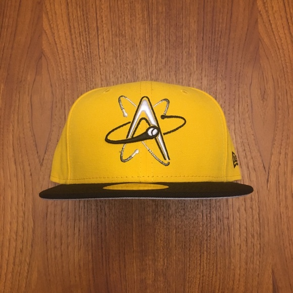 abc30eaf82b3f Rare New Era Albuquerque Isotopes 59Fifty 7 3 8